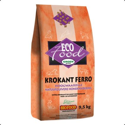 Biofood ecofood krokant ferro natuurzuiver 9.5kg