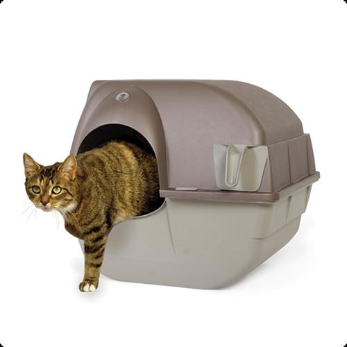 zelfreinigende kattenbak regular Omega paw roll 'n clean regular